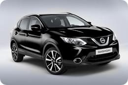 Nissan Qashqai 2014 в черном цвете