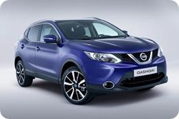 Nissan Qashqai 2014 в синем цвете