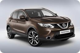 Nissan Qashqai 2014 в коричневом цвете